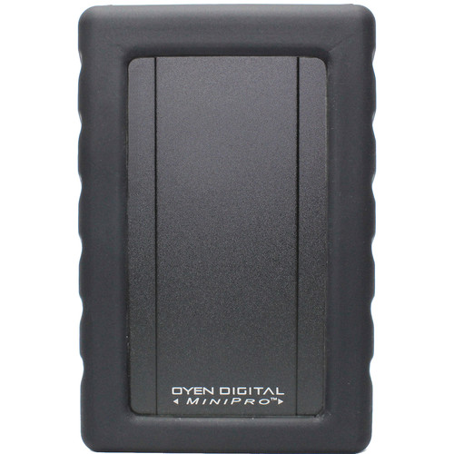 Oyen Digital 500GB MiniPro Dura Rugged USB 3.1 Gen 2 Type-C External SSD (Black)