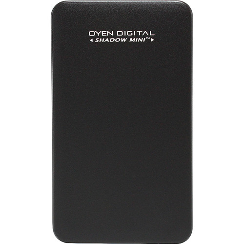 Oyen Digital 256GB Shadow Mini External USB 3.1 Gen 2 Portable SSD (Black)