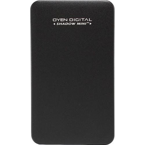 Oyen Digital 512GB Shadow Mini External USB 3.1 Gen 2 Portable SSD (Black)