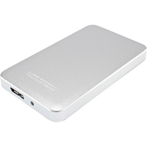 Oyen Digital 512GB Shadow Mini External USB 3.0 Portable SSD (Silver)