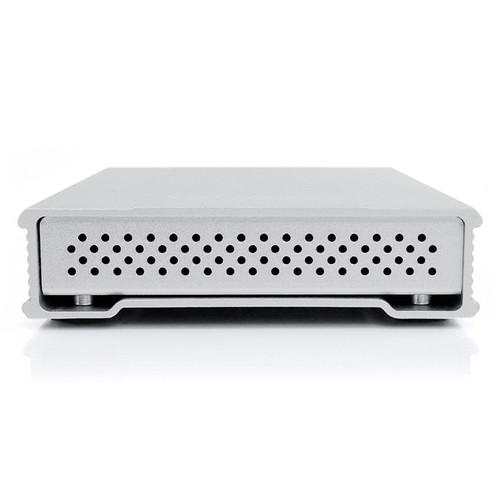 Oyen Digital 1TB MiniPro USB 3.1 Gen-2 Type-C Portable Solid State Drive (Silver)
