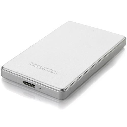 Oyen Digital 512GB U32 Shadow USB 3.1 External Solid State Drive (Silver)