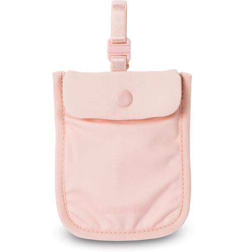 Pacsafe Coversafe S25 Secret Bra Pouch (Pink)