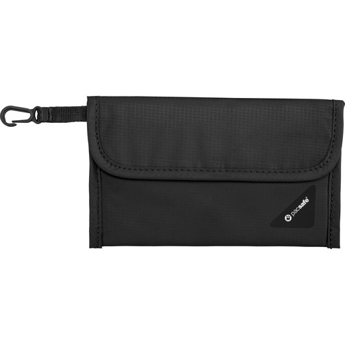 Pacsafe Coversafe V50 RFID Blocking Passport Protector (Black)
