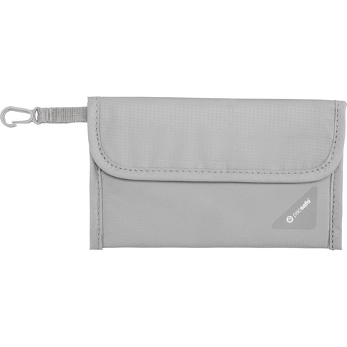 Pacsafe Coversafe V50 RFID Blocking Passport Protector (Gray)