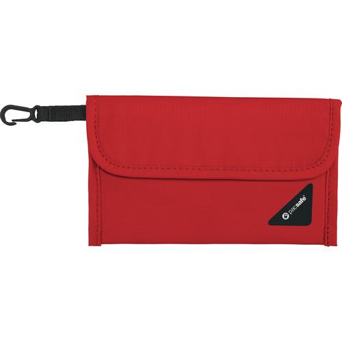 Pacsafe Coversafe V50 RFID Blocking Passport Protector (Chili/Khaki)