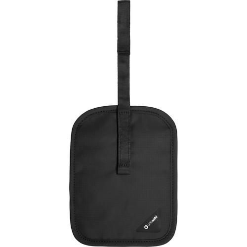 Pacsafe Coversafe V60 RFID Blocking Secret Belt Wallet (Black)