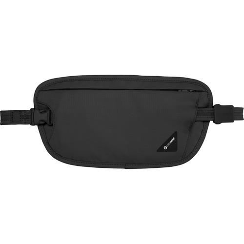 Pacsafe Coversafe X100 Anti-Theft RFID Blocking Waist Wallet (Black)