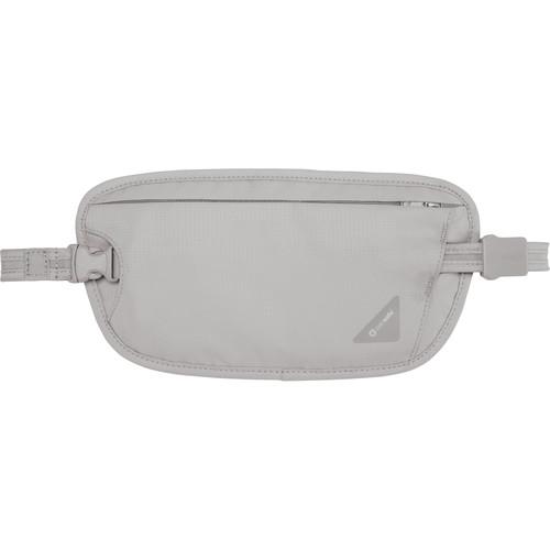 Pacsafe Coversafe X100 Anti-Theft RFID Blocking Waist Wallet (Gray)