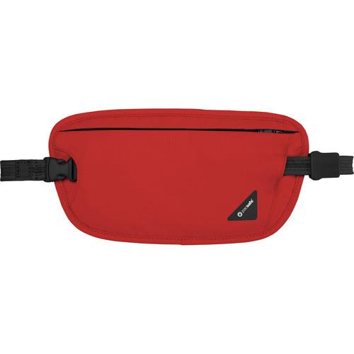 Pacsafe Coversafe X100 Anti-Theft RFID Blocking Waist Wallet (Chilli)