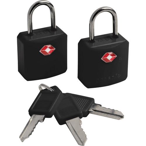Pacsafe Prosafe 620 TSA-Accepted Luggage Locks (Two, Black)