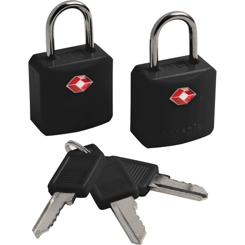 Pacsafe Prosafe 620 TSA-Accepted Luggage Locks (Two, Black)
