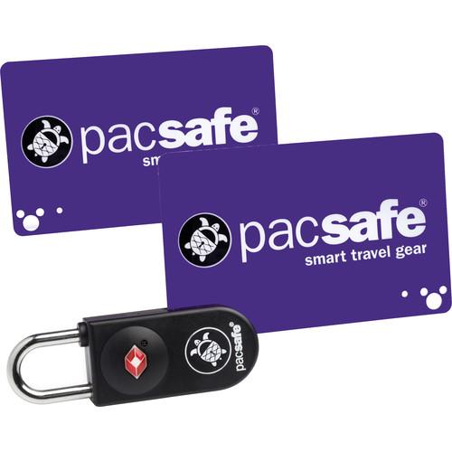 Pacsafe Prosafe 750 TSA-Accepted Key-Card Lock (Black)