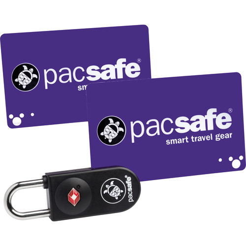 Pacsafe Prosafe 750 TSA-Accepted Key-Card Lock (Black)