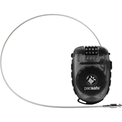 Pacsafe Retractasafe 250 4-Dial Retractable Cable Lock