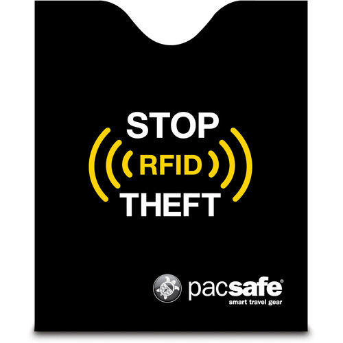 Pacsafe RFIDsleeve 50 RFID-Blocking Passport Protector (Black)