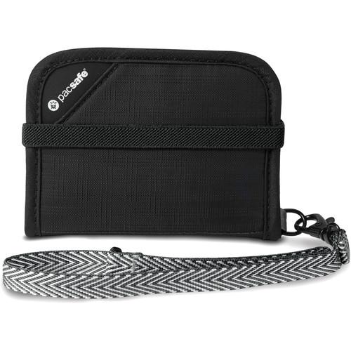 Pacsafe RFIDtec V50 RFID-Blocking Compact Bi-Fold Wallet (Black)