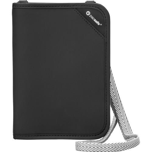 Pacsafe RFIDsafe V150 Anti-Theft RFID Blocking Compact Organizer (Black)