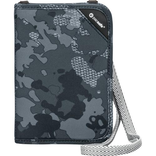 Pacsafe RFIDsafe V150 Anti-Theft RFID Blocking Compact Organizer (Gray Camo)