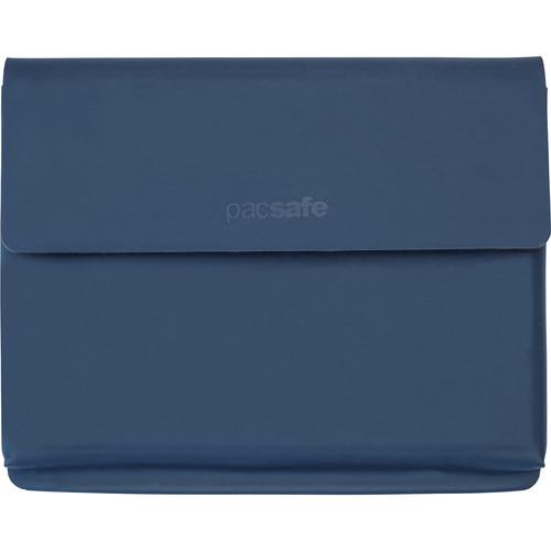 Pacsafe RFIDsafe TEC Passport Wallet (Navy Blue)