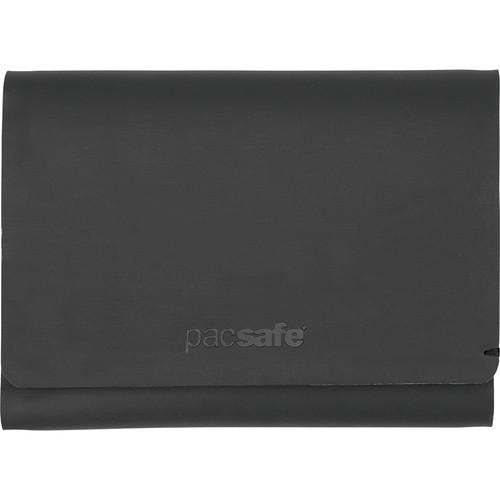 Pacsafe RFIDsafe TEC Slim Trifold Wallet (Black)