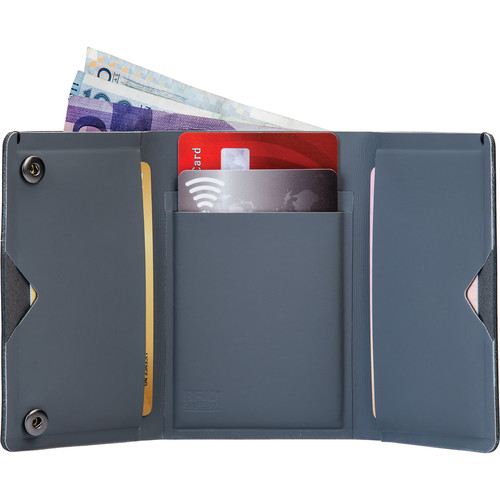 Pacsafe RFIDsafe TEC Slim Trifold Wallet (Navy Blue)