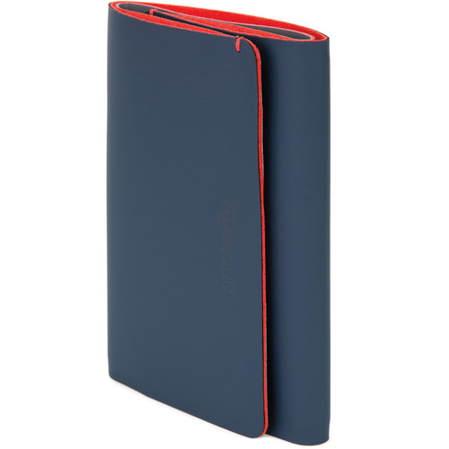 Pacsafe RFIDsafe Tec Trifold Wallet (Navy/Red)