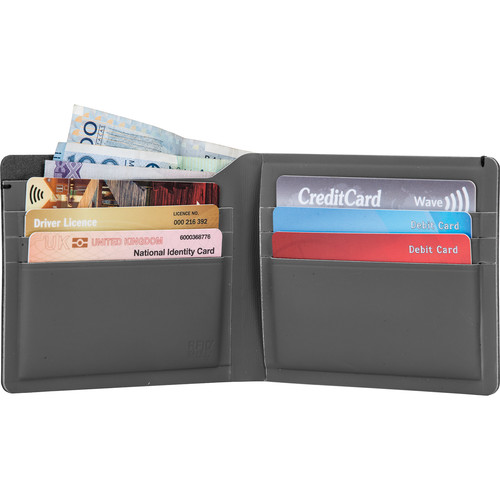 Pacsafe RFIDsafe TEC Slim Bi-Fold Wallet (Black)