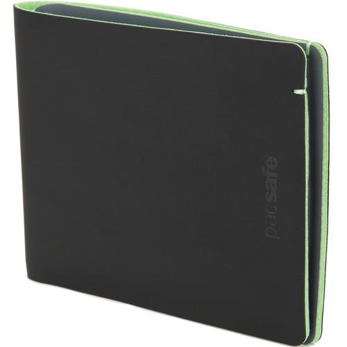 Pacsafe RFIDsafe Bifold Tec Wallet (Black/Lime)