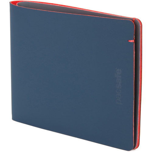 Pacsafe RFIDsafe Bifold Tec Wallet (Navy/Red)