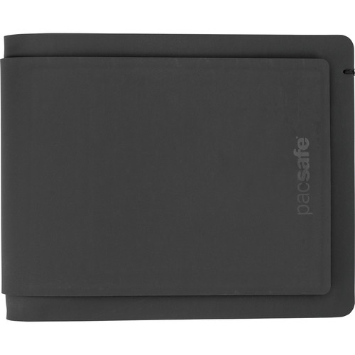 Pacsafe RFIDsafe TEC Slim Bi-Fold PLUS Wallet (Black)
