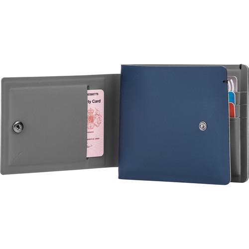 Pacsafe RFIDsafe TEC Slim Bi-Fold PLUS Wallet (Navy Blue)