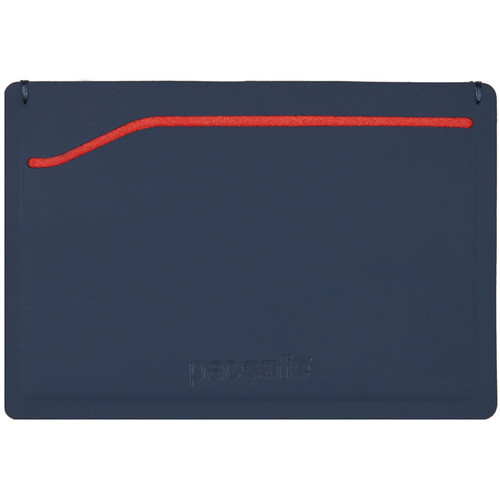 Pacsafe RFIDSAFE TEC Sleeve Wallet (Navy/Red)