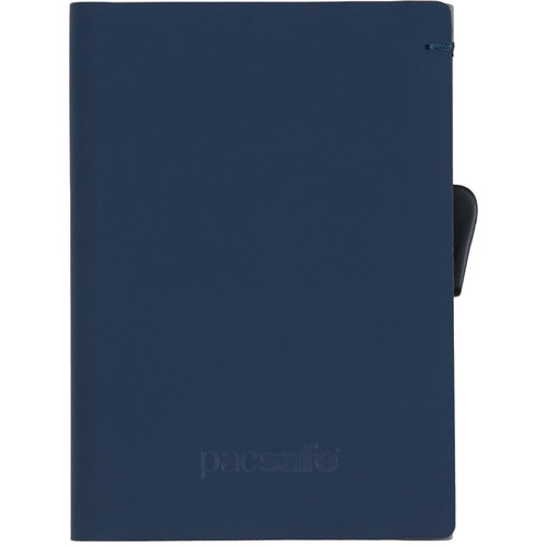 Pacsafe RFIDsafe TEC Slider Wallet (Navy and Red)