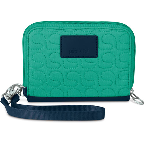 Pacsafe RFIDsafe W100 RFID Blocking Wallet (Lagoon)