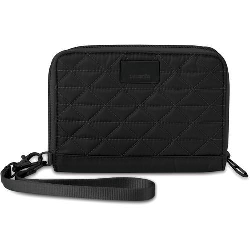Pacsafe RFIDsafe W150 RFID-Blocking Organizer (Black)