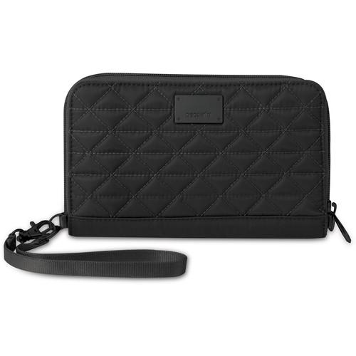Pacsafe RFIDsafe W200 RFID-Blocking Travel Wallet (Black)