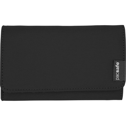 Pacsafe RFIDsafe LX100 RFID Blocking Wallet (Black)