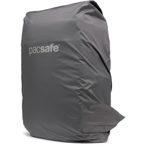 Pacsafe Medium Backpack Rain Cover (Dark Frost Gray)