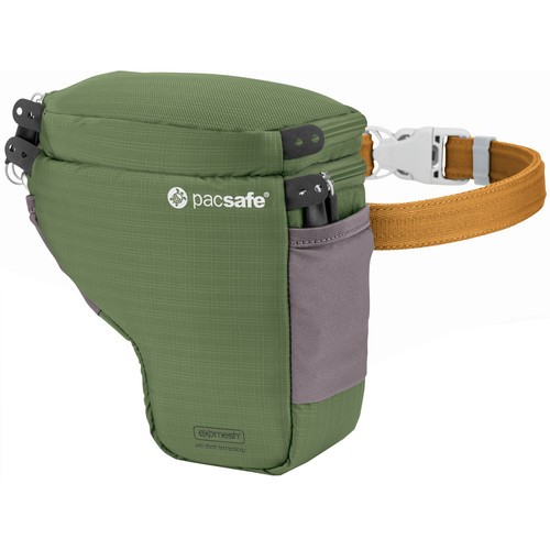 Pacsafe Camsafe V2 Anti-Theft Camera Holster (Olive/Khaki)