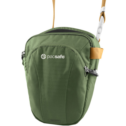 Pacsafe Camsafe V3 Anti-Theft Camera Top Loader Bag (Olive/Khaki)