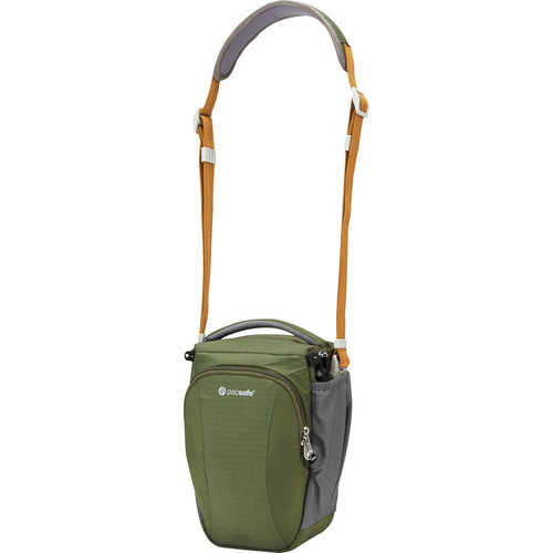 Pacsafe Camsafe V6 Anti-Theft Compact Camera Top Loader Bag (Olive/Khaki)