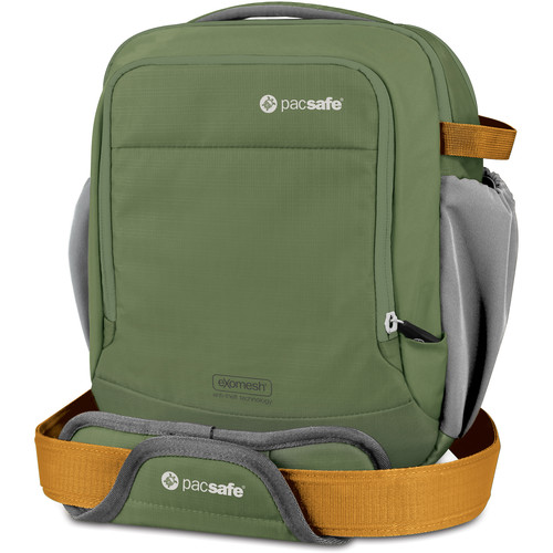 Pacsafe Camsafe V8 Anti-Theft Camera Shoulder Bag (Olive/Khaki)