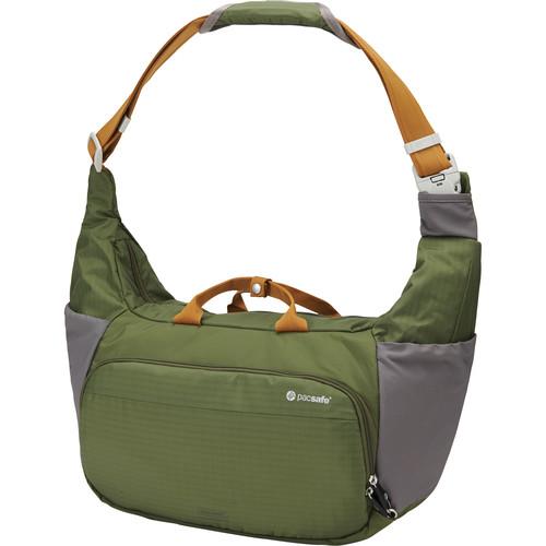 Pacsafe Camsafe V18 Anti-Theft Expandable Camera Sling Bag (Olive/Khaki)