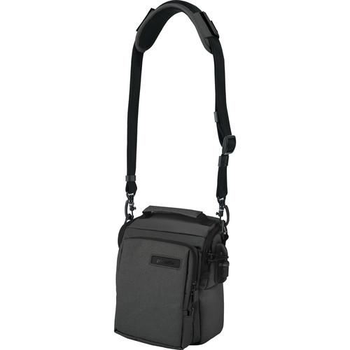 Pacsafe Camsafe Z6 Anti-Theft DSLR Camera & mini Tablet Bag (Canvas, Charcoal)