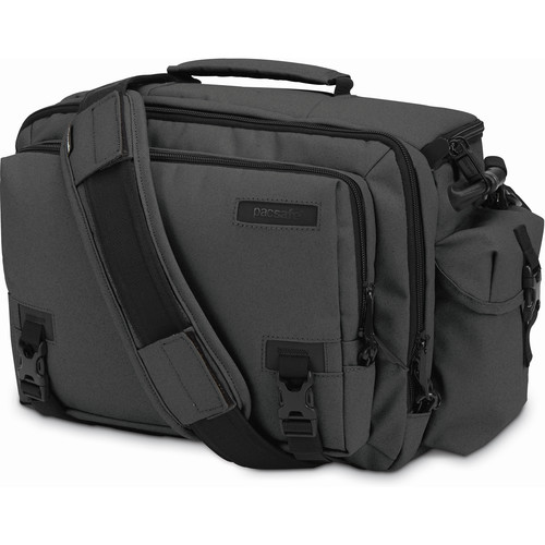 Pacsafe Camsafe Z15 Anti-Theft Camera & Tablet Shoulder Bag (Charcoal)