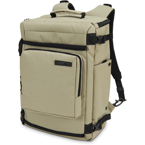 "Pacsafe Camsafe Z25 Anti-Theft Camera and 15"" Laptop Backpack (Slate Green)"