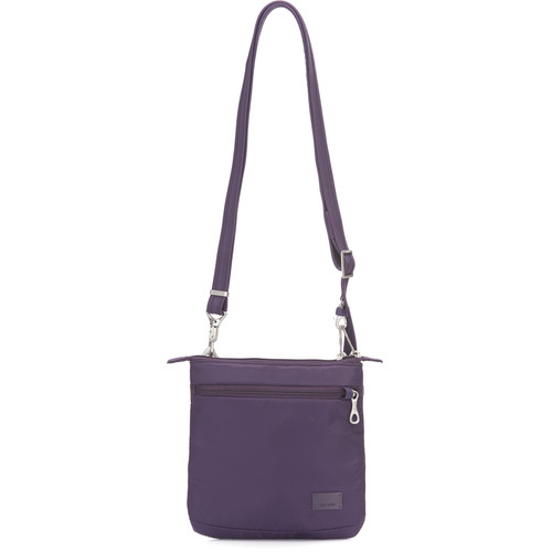 Pacsafe Citysafe CS50 Anti-Theft Crossbody Purse (Mulberry)