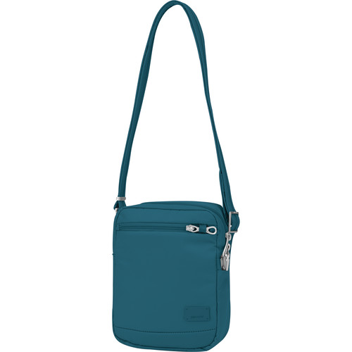 Pacsafe Citysafe CS75 Anti-Theft Cross Body Travel Bag (Teal)