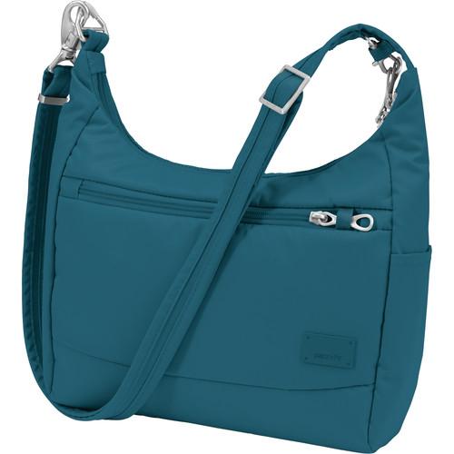 Pacsafe Citysafe CS100 Anti-Theft Travel Handbag (Teal)